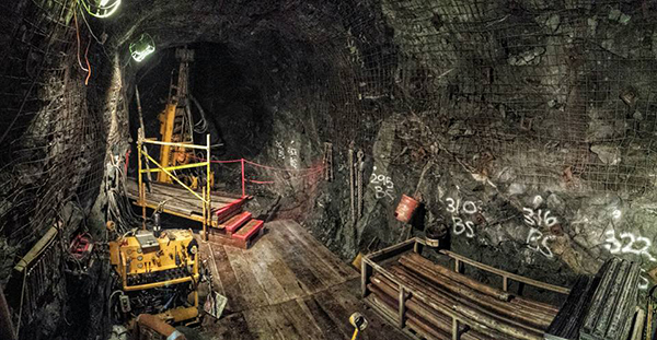 Underground Core Drilling